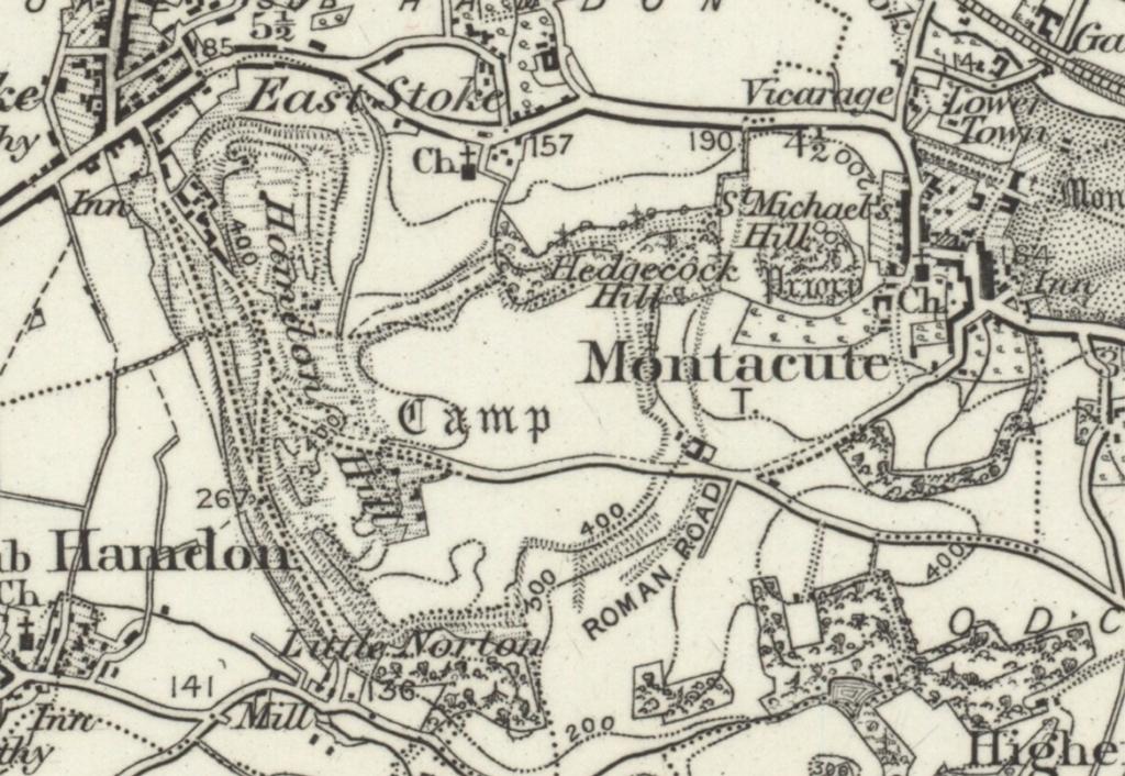 1898 map ham hill