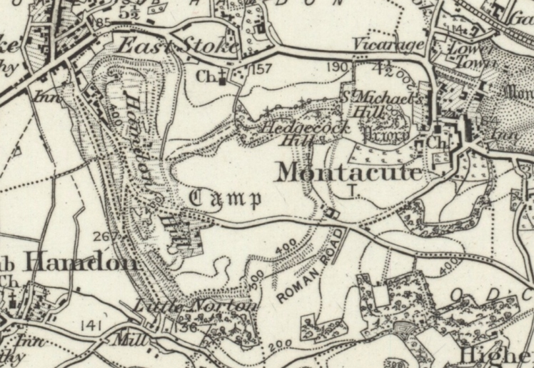 1898 map ham hill