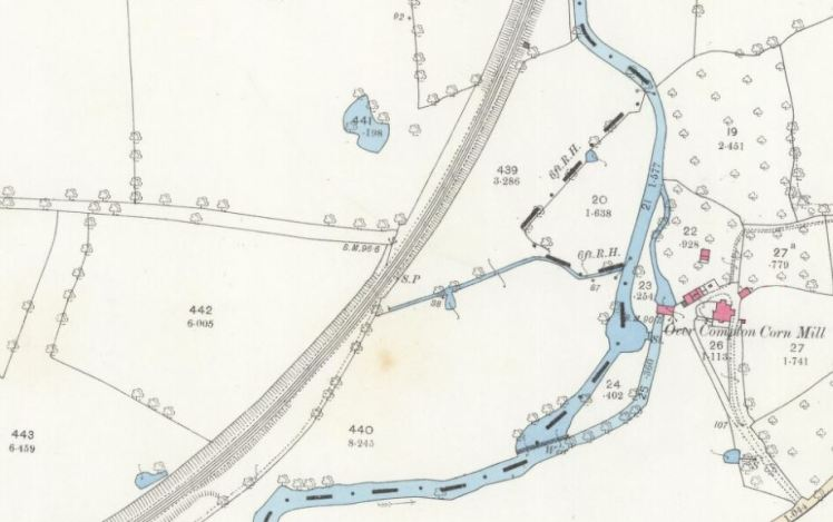 1889 map compton mill